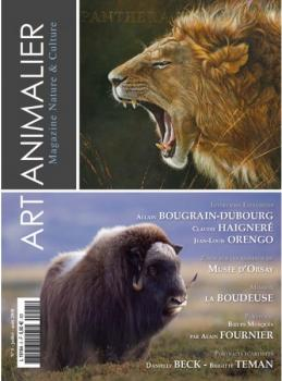 Couverture de la revue Art animalier n°5