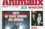 Couverture Animaux magazine