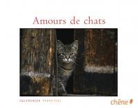 Couverture du livre Amours de chats