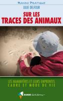 Couverture du livre Sur les traces des animaux
