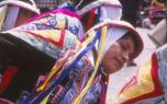 Photographie d'une danse péruvienne